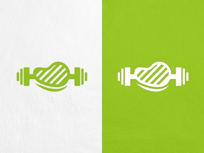 FAT AND FIT GRILL LOGO DESIGN