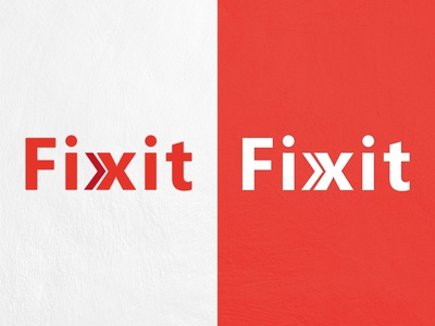 FIX IT LOGO DESIGN