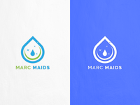 Marc Maids Logo Design