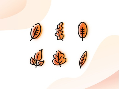 icon of autumn leaves
