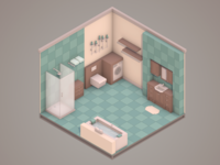 30 Days of Isometric Rooms / Day 16