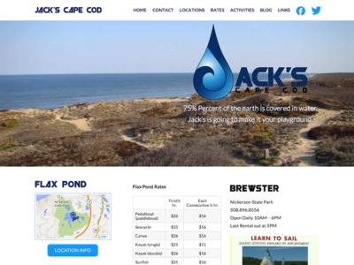 Jack's Cape Cod zurb foundation 4 wordpress responsive