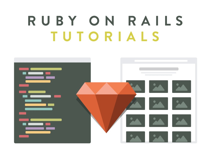 Ruby On Rails Tutorials by Mackenzie Child 😻 on Dribbble