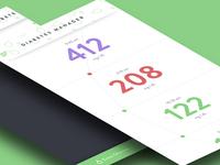 Daily Design 006 - Diabetes Management App