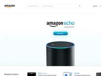 Daily Design 034 - Amazon Redesign