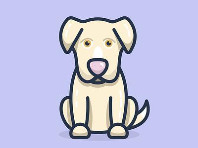 Pups character cute illustration pups dog