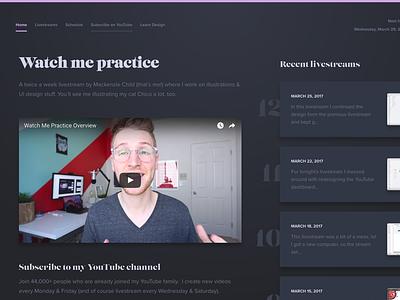 Watch Me Practice 2.0