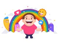 Smile 😃 smile like heart colorful cute happy