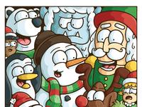 Christmas mashup doodle