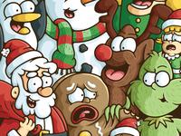Christmas Character Mashup