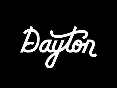 Dayton lettering type script typography ohio dayton