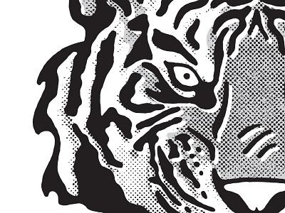 Tiger illustration bitmap tiger