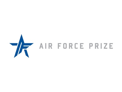 Full Air Force Prize Logo mark logo star air force af