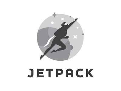 Jetpack Logo jetpack jet pack logo earth planet space nasa badge patch
