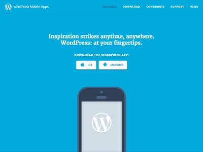 WordPress Mobile Apps wordpress apps mobile website