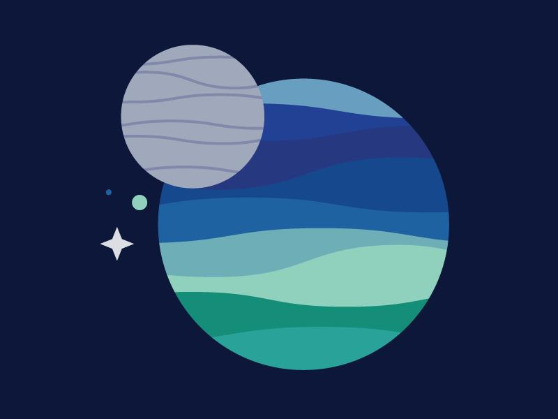 Triton moon space planet neptune triton
