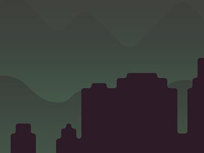 Skyline skyline night city
