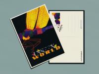 Unseen World Postcard