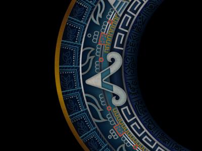 Ombligo de Luna Details details luna mexico aztec moon