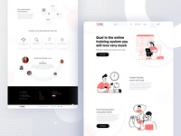 Online Training Course V-01 food creative design online shop course icon vector branding illustration website typography product template e-commerce agency landing page minimal