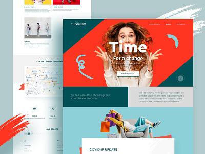 The Chimes - Live elegant creative design graphic design shape design website vector illustration agency branding product ecommerce app ecommerce business ecommerce design ecommerce shop e-commerce typography