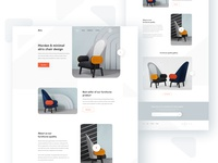 Chair Home page concept