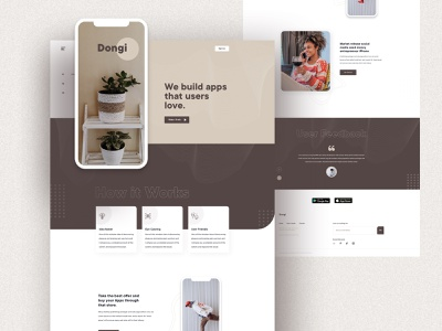 App Landing Page visualdesigner app screen travel remote freelancer bestdesign bestshot apphomepage app shape shape design web design product agency e-commerce landing page minimal typography web ui
