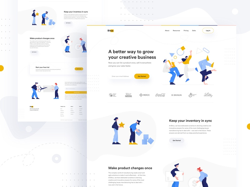 Bitco... branding product illustration e-commerce landing page topdesign2019 whitespace typography remotejob freelancer visual uinugget apps website agent agency uxdesign minimaldesign visualdesign uidesign