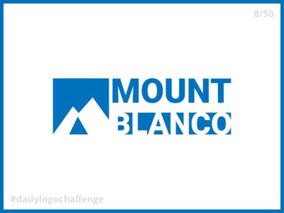 Daily Logo Challenge - Day 8: Ski Mountain