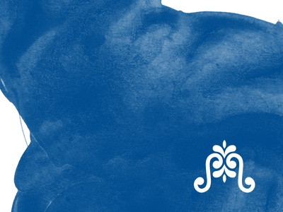 """M"" water florida fountain mediterranean logo icon typography branding"