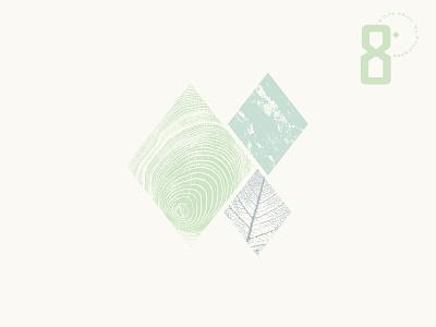 Texture stone woodgrain leaf natural nature texture branding