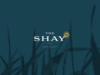 The Shay community apartment nashville mindful health balance logo branding