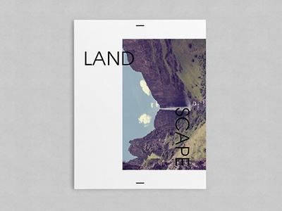 Cover swiss cover graphic design editorial book poster landscape layout modern clean minimal