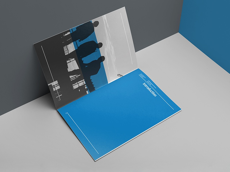 NGR | Branding/Identity modern clean business presentation booklet brochure editorial estate real corporate identity branding