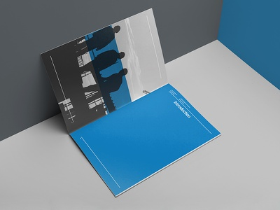NGR | Branding/Identity modern clean business presentation booklet brochure editorial estate real corporate identity branding