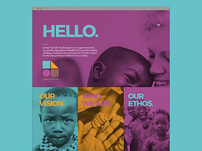 Landing Page | Web web mobile design colorful page landing flat clean ui layout webdesign website