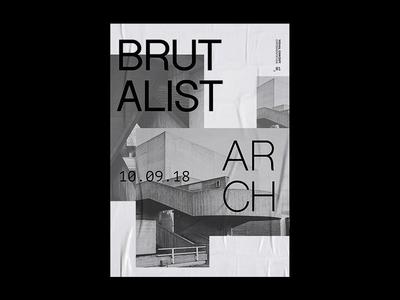 Brutalist Arch | Poster