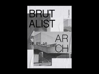 Brutalist Arch | Poster