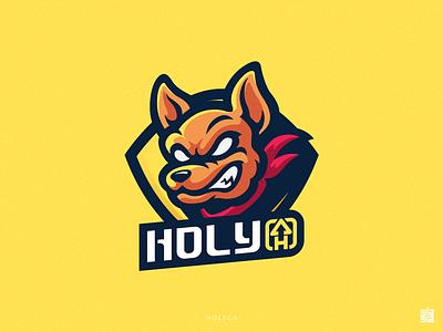 HOLY_CH streaming esports gaming illustration sport logo gaming logo logo design