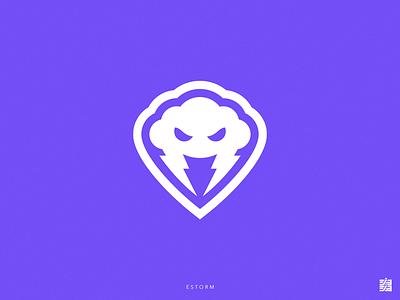 Estorm latam mexico cloud storm estorm logo design design gaming gaming logo sport logo esports