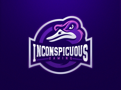 Inconspicuous Gaming logo design gaming logo esports sport logo