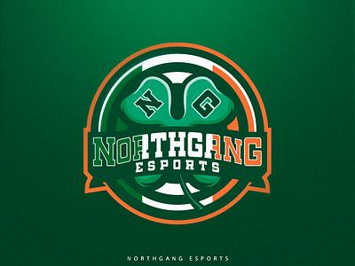 NorthGang Esports green gaming logos logo inspiration logo design sport logo
