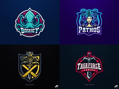 2018 sport logo logo gaming logotype gaming logo logo design esports