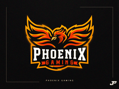 Phoenix Gaming ui branding design vector illustration logo gaming logotype gaming logo sport logo logo design esports phoenix logo