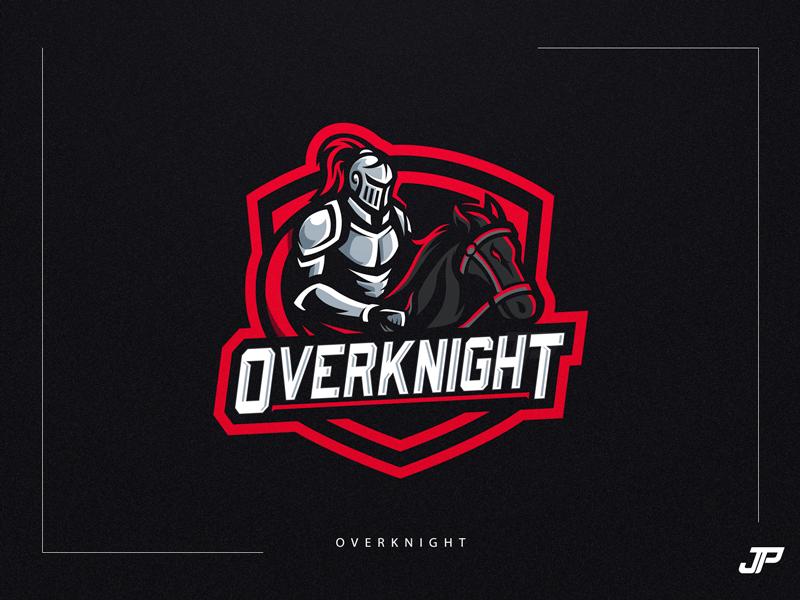 Overknight vector logodesign knights branding illustration logo gaming logotype gaming logo sport logo logo design esports