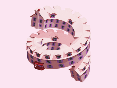 A Spiral House