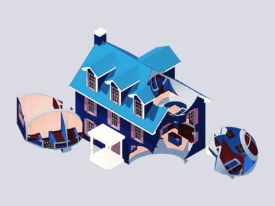 Scooped House
