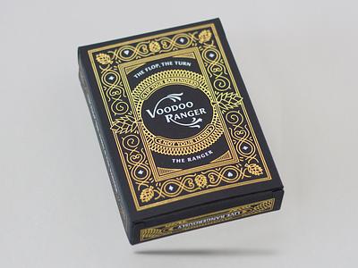 Voodoo Ranger beer illustration holdem texas deck cards card foil
