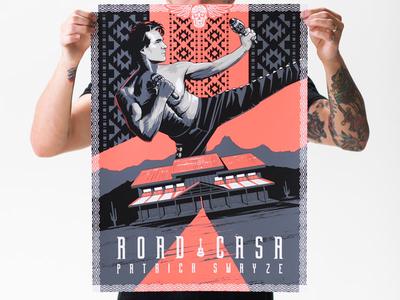 Road Casa poster illustration