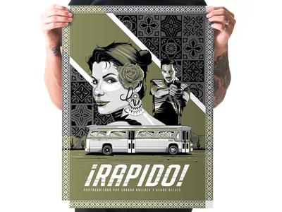 Rapido poster illustration
